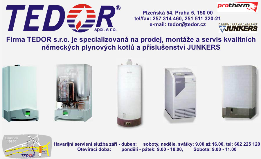 Plynové kotle junkers